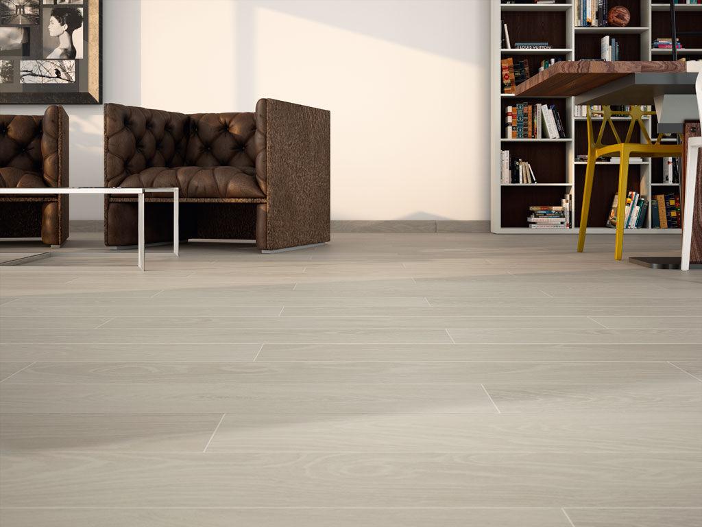 Indoor tile / floor / porcelain stoneware / matte - CHEROKEE - APE