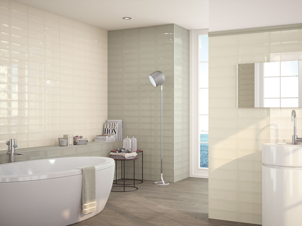 Indoor tile / floor / ceramic / high-gloss - BELVEDERE - APE
