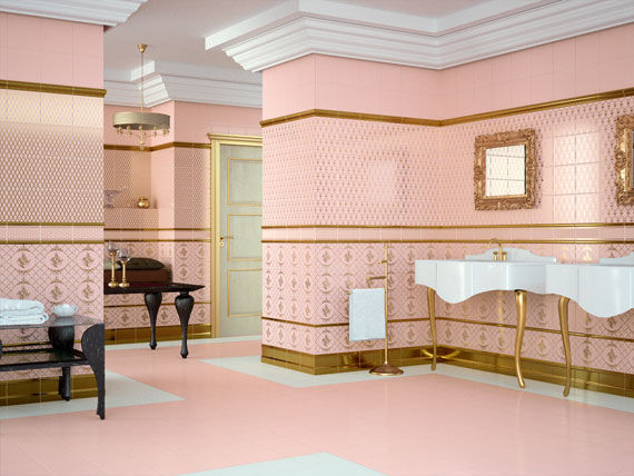 Attractive Ceramic Tile Living Room Ideas - Living Room Designs ...