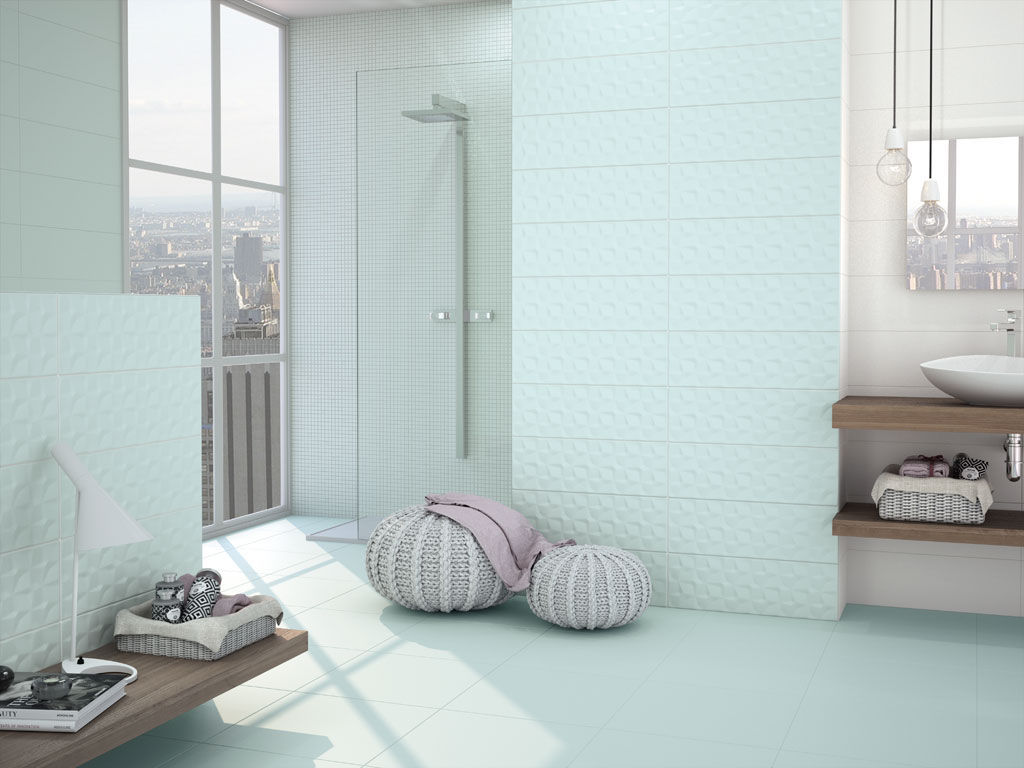Bathroom tile / floor / ceramic / matte - ADORABLE - APE