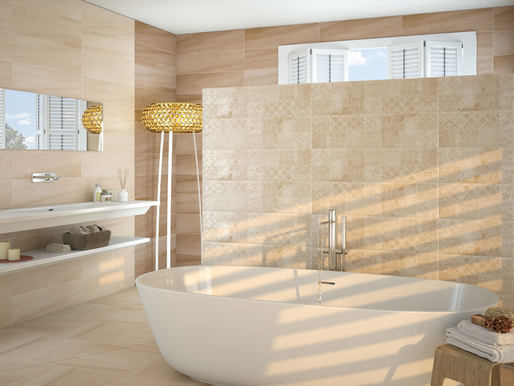 Bathroom tile / kitchen / floor / ceramic - PLUTON - APE - Videos