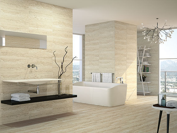 Bathroom Tile / Floor / Ceramic / High Gloss   BRUXELLES