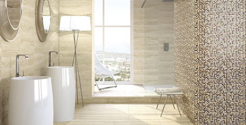 Bathroom Tile Floor Ceramic High Gloss