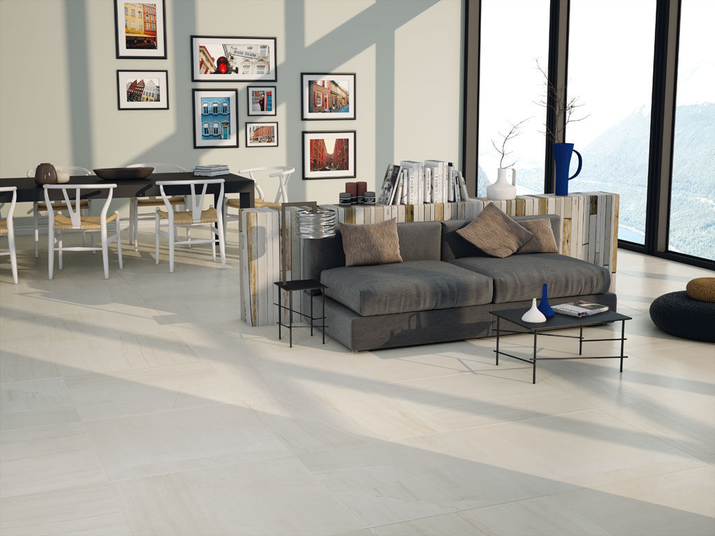 living room tile / floor / porcelain stoneware / matte - big bend