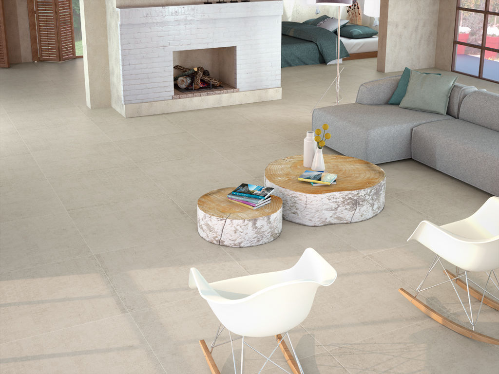 Living room tile / floor / porcelain stoneware / high-gloss - JAPAN ...
