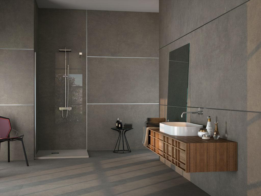 Bathroom Tile Floor Bathroom Tile Floor Porcelain Stoneware Matte Cassius Ape