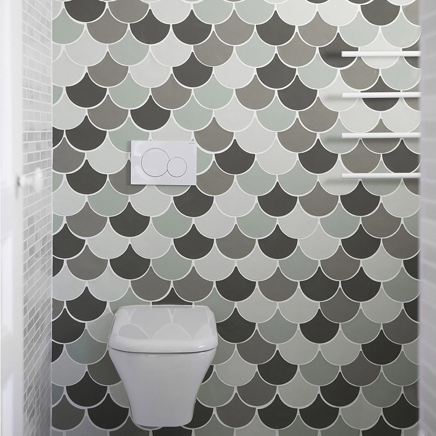 Indoor tile / outdoor / wall / floor - ECAILLES - Normandy Ceramics ...