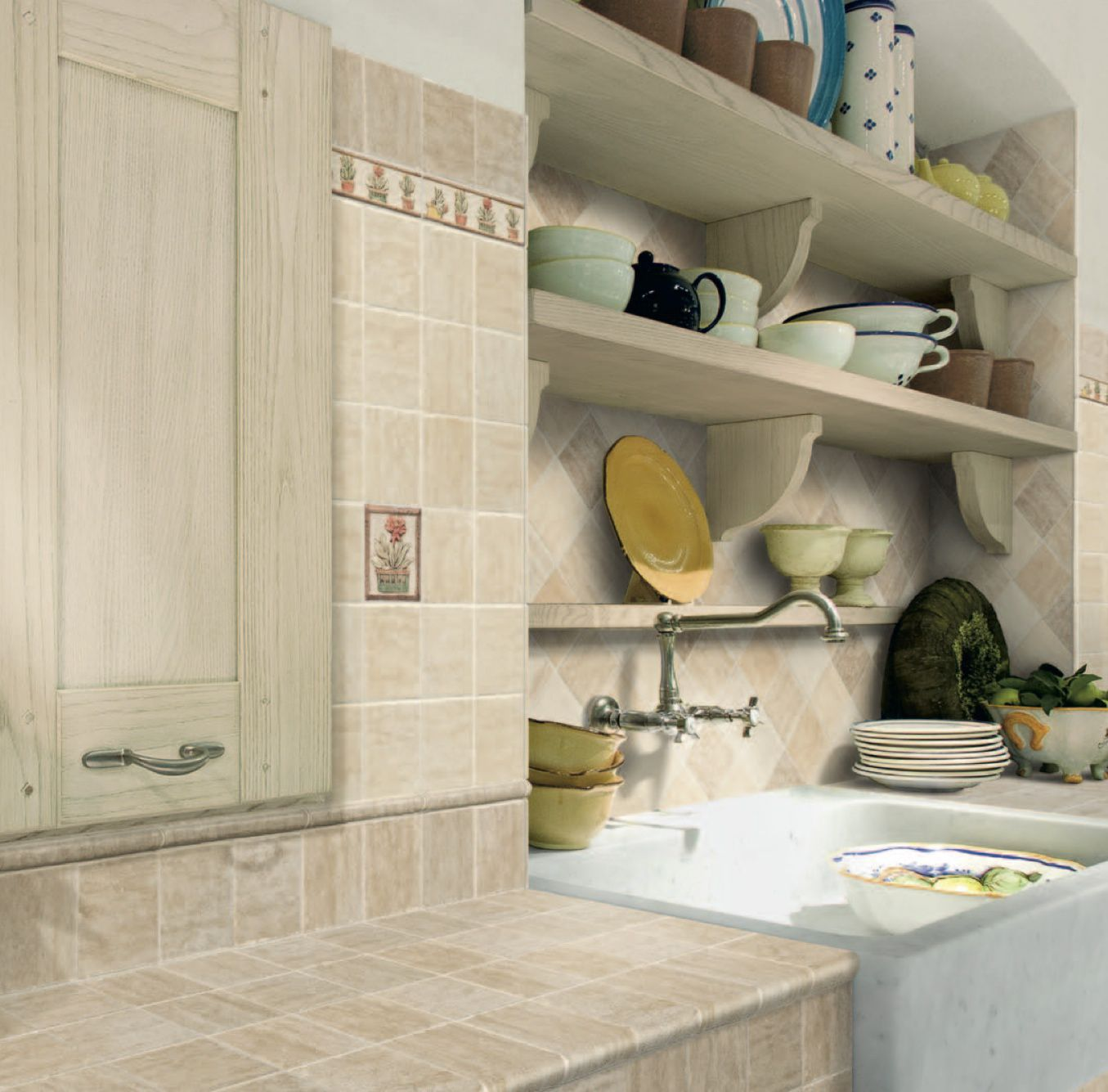 Kitchen Wall And Floor Tiles Bathroom Tile Kitchen Wall Ceramic Castelli Ceramica Alta