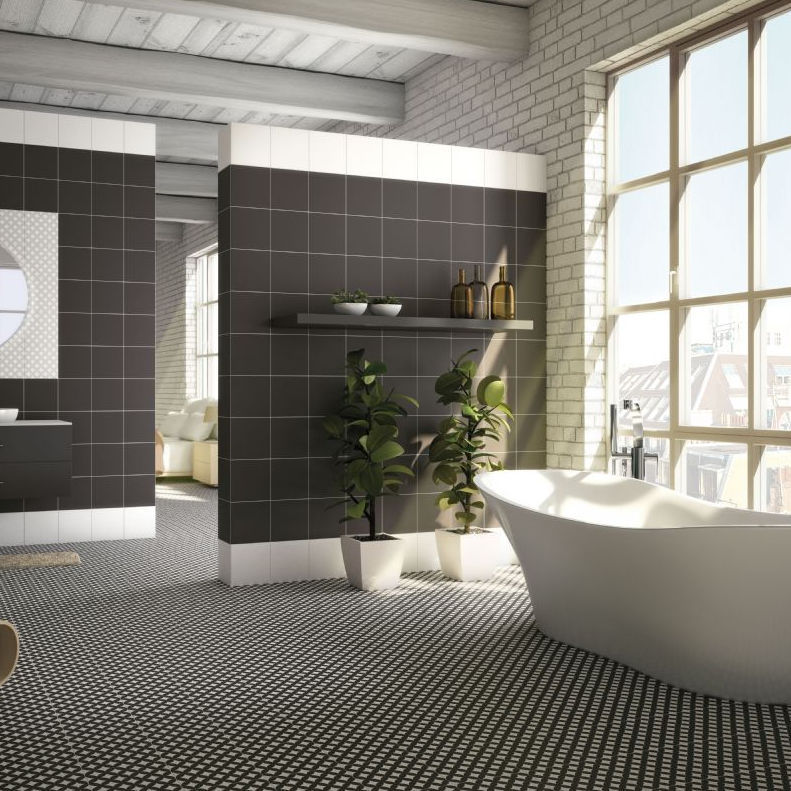 Hydraulic Tile Bathroom Floor Ceramic Olympia Ceramica Cas
