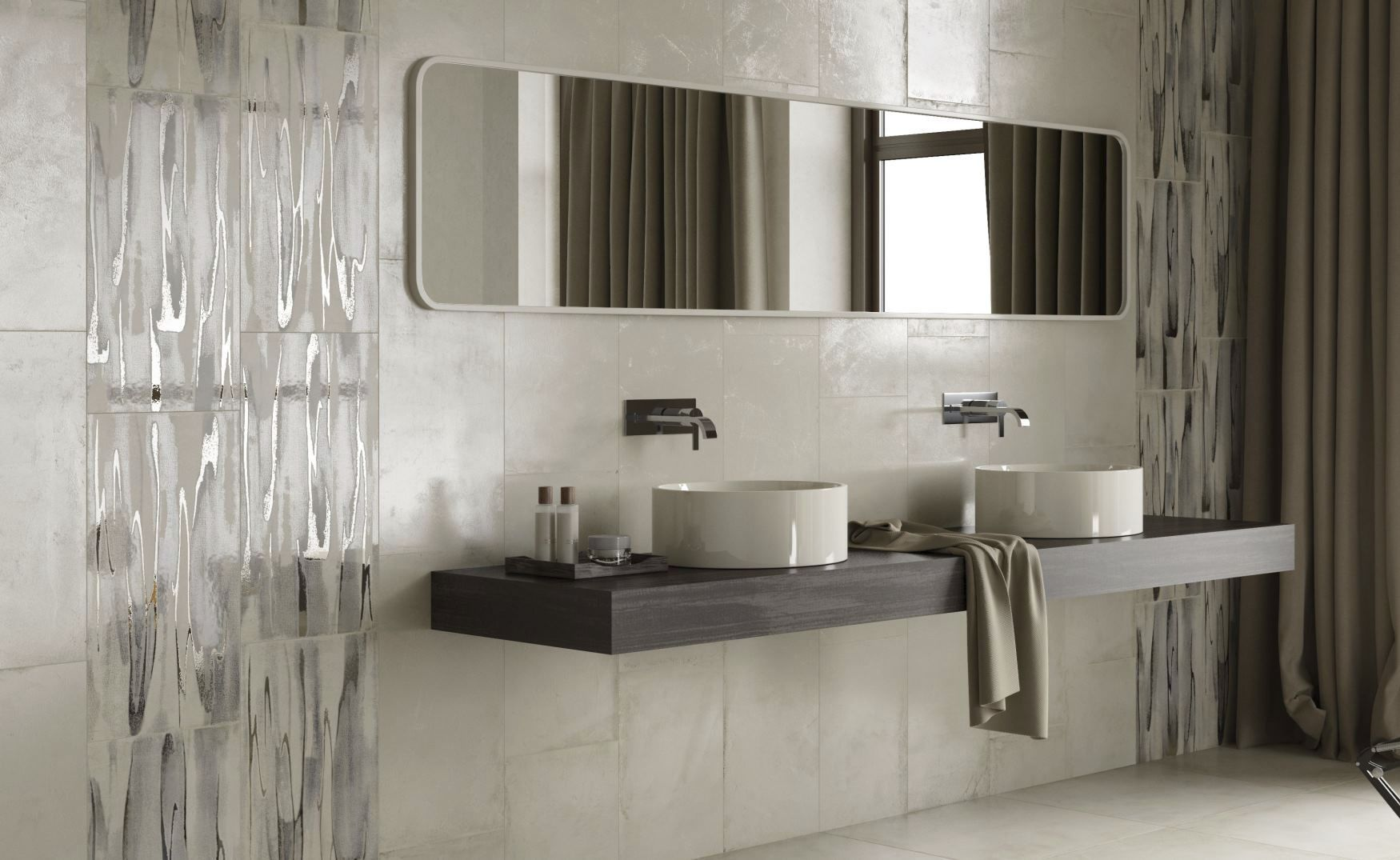 How to cover wall tiles -  Bathroom Tile Kitchen Floor Wall Res Cover Decoro Ceramiche Ricchetti
