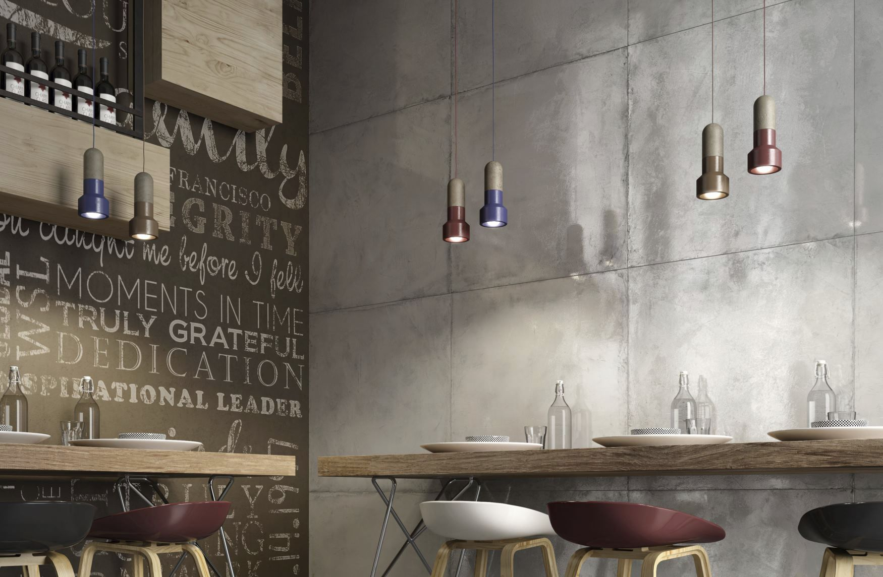 How to cover wall tiles - Indoor Tile Floor Wall Porcelain Stoneware Res Cover Beton Ceramiche Ricchetti