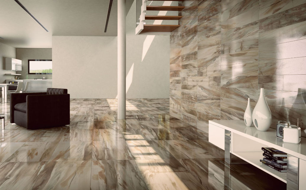 Indoor Tile Floor Porcelain Stoneware High Gloss Jurassic Cisa
