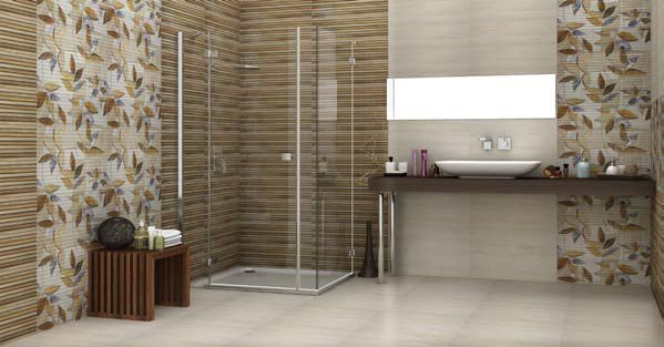 Bathroom tile / floor / wall / ceramic - NATURA - CLEOPATRA GROUP