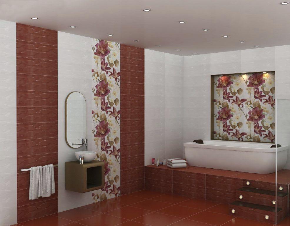 Bathroom tile / floor / wall / ceramic - TULIP - CLEOPATRA GROUP