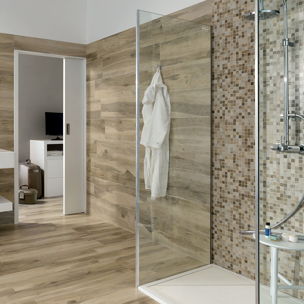 Wood Look Tile In Shower Wb Designs - Wood Look Tile Shower Floor - Home Designs