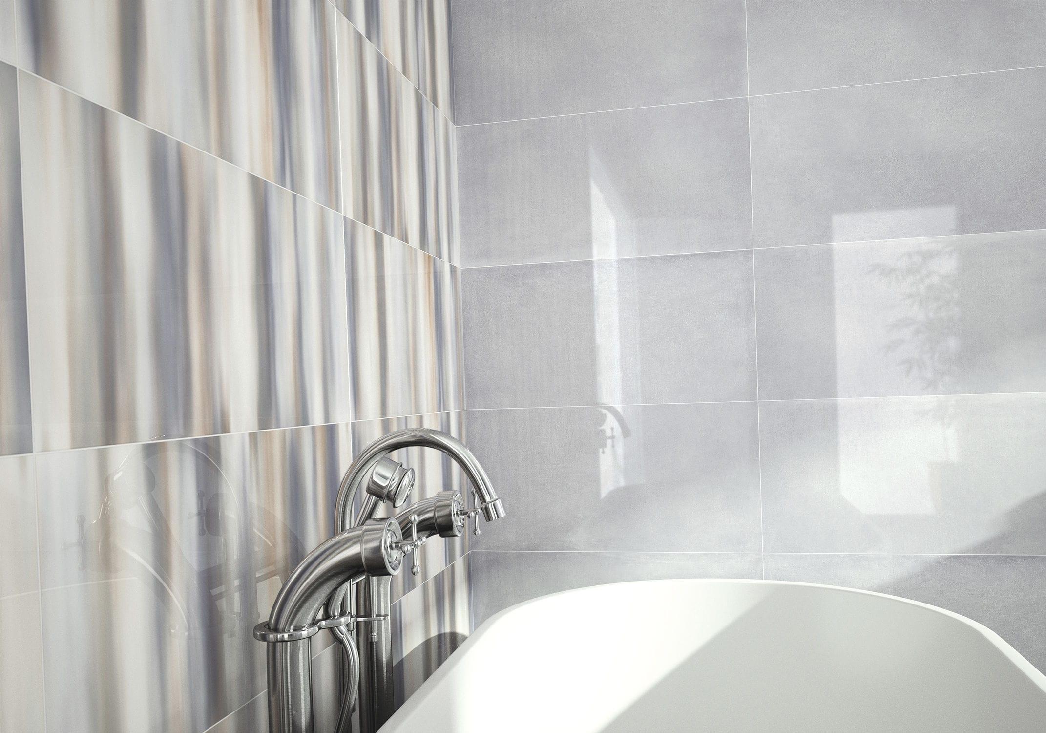 Bathroom tile / kitchen / wall / ceramic - EVOLUTION - DOMINO