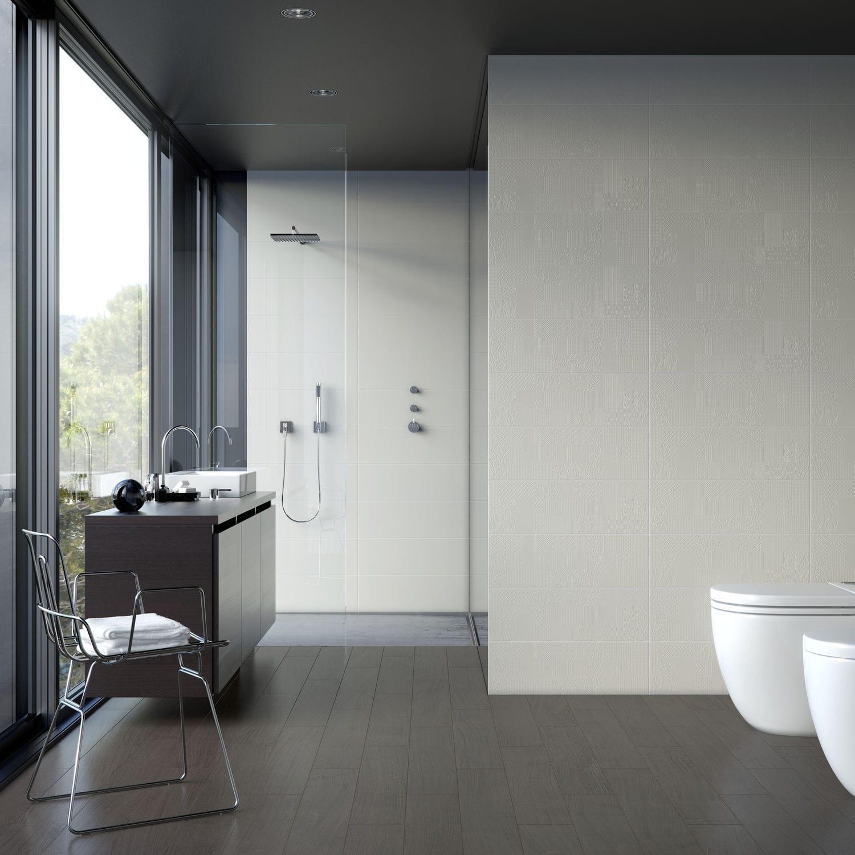 Indoor tile / bathroom / wall / ceramic - CONFORT - DOMINO