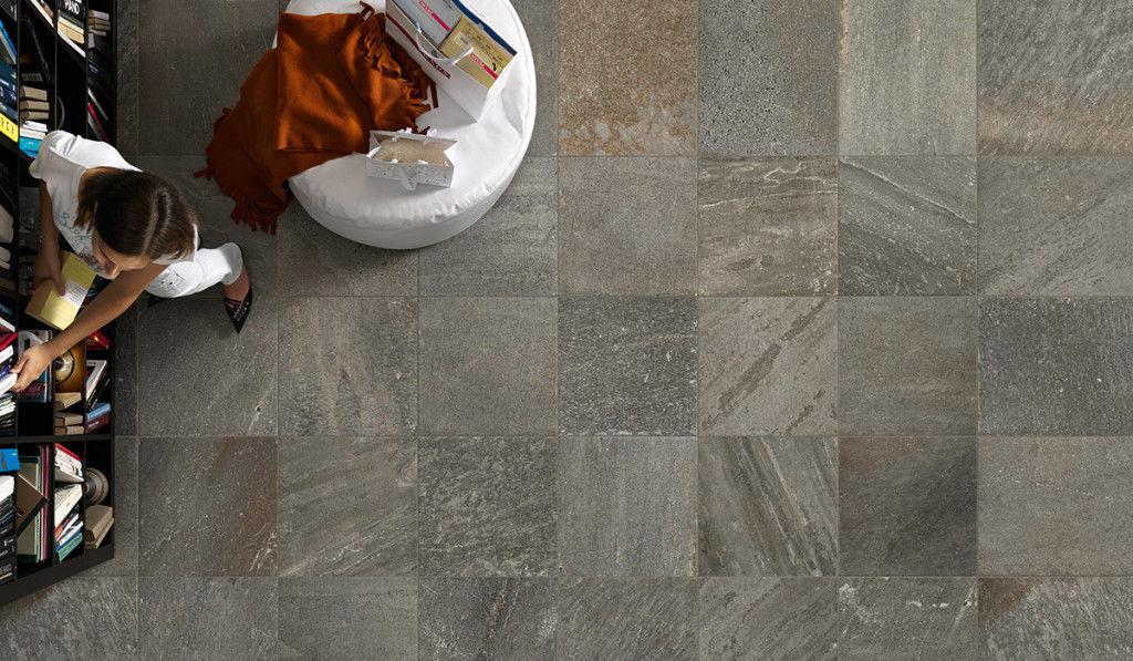 Indoor Tile Floor Porcelain Stoneware Enameled Quartzsign