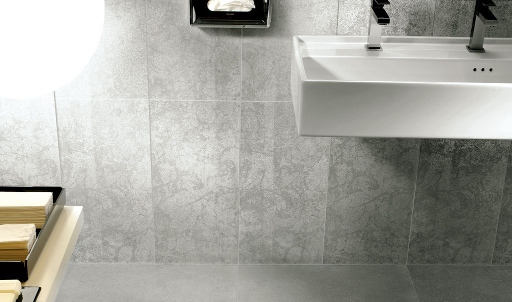 Fondovalle Portland indoor tile bathroom wall floor metalgloss fondovalle