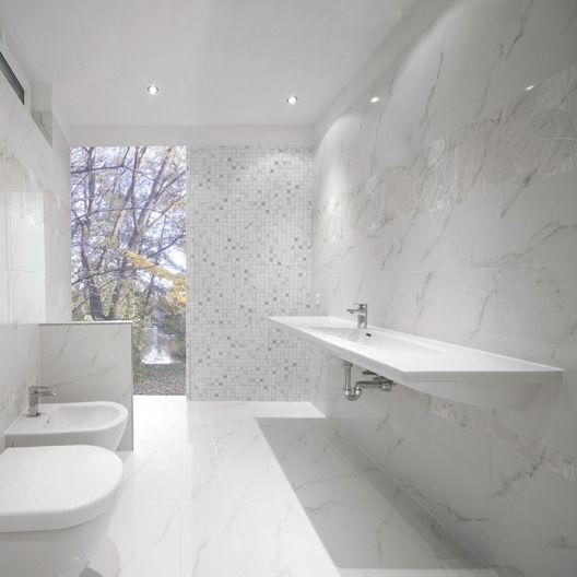Indoor Tile Wall Porcelain Stoneware Patterned