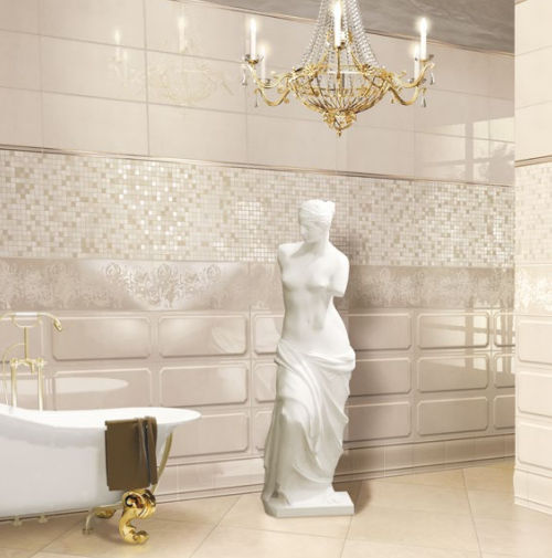 Bathroom Tile / Wall / Porcelain Stoneware / Plain   ITALIAN STYLE