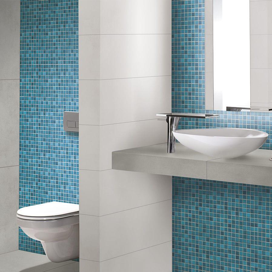 Bathroom mosaic tile / wall / floor / porcelain stoneware - FRESH ...
