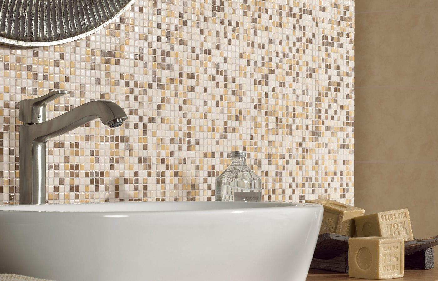Indoor mosaic tile bathroom floor porcelain stoneware kauri indoor mosaic tile bathroom floor porcelain stoneware dailygadgetfo Images