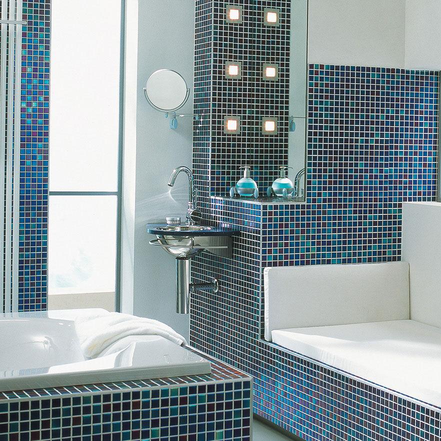 Bathroom mosaic tile / wall / floor / porcelain stoneware - M2 : SKY ...