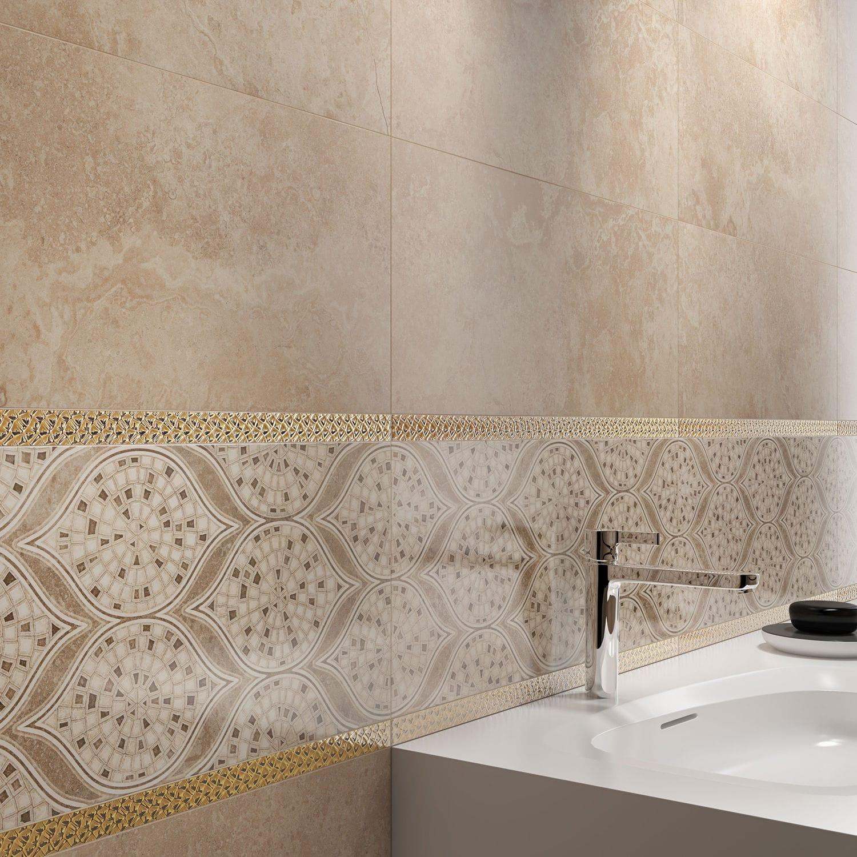 Ceramic border tile / wall-mounted - LUNA - KUTAHYA SERAMIK