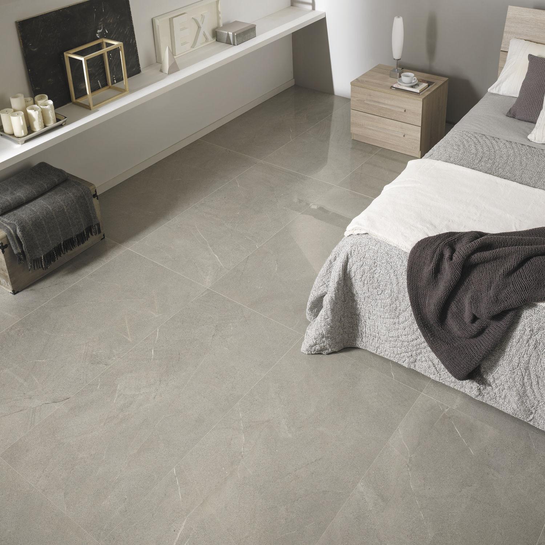 Indoor tile / for floors / porcelain stoneware / plain - DOLOMITI ...