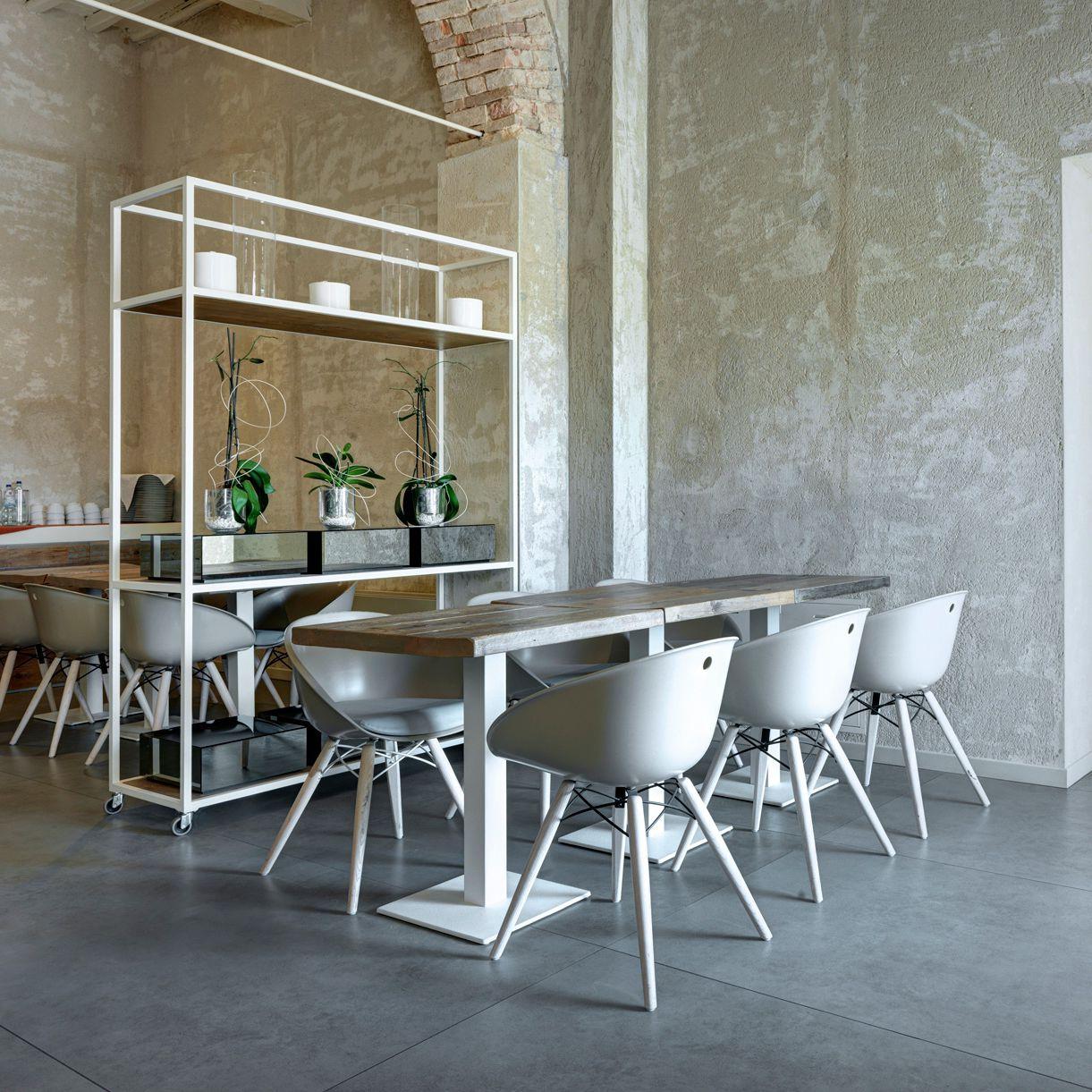 Ceramic flooring / tertiary / tile / concrete look - ARCHITECTURAL ...