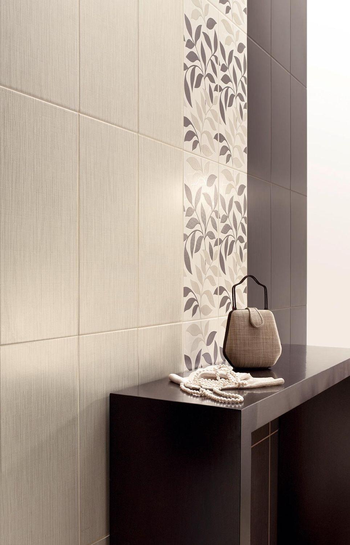 Indoor tile / bathroom / wall / floor - ATELIER SATIN - LOVE CERAMIC ...