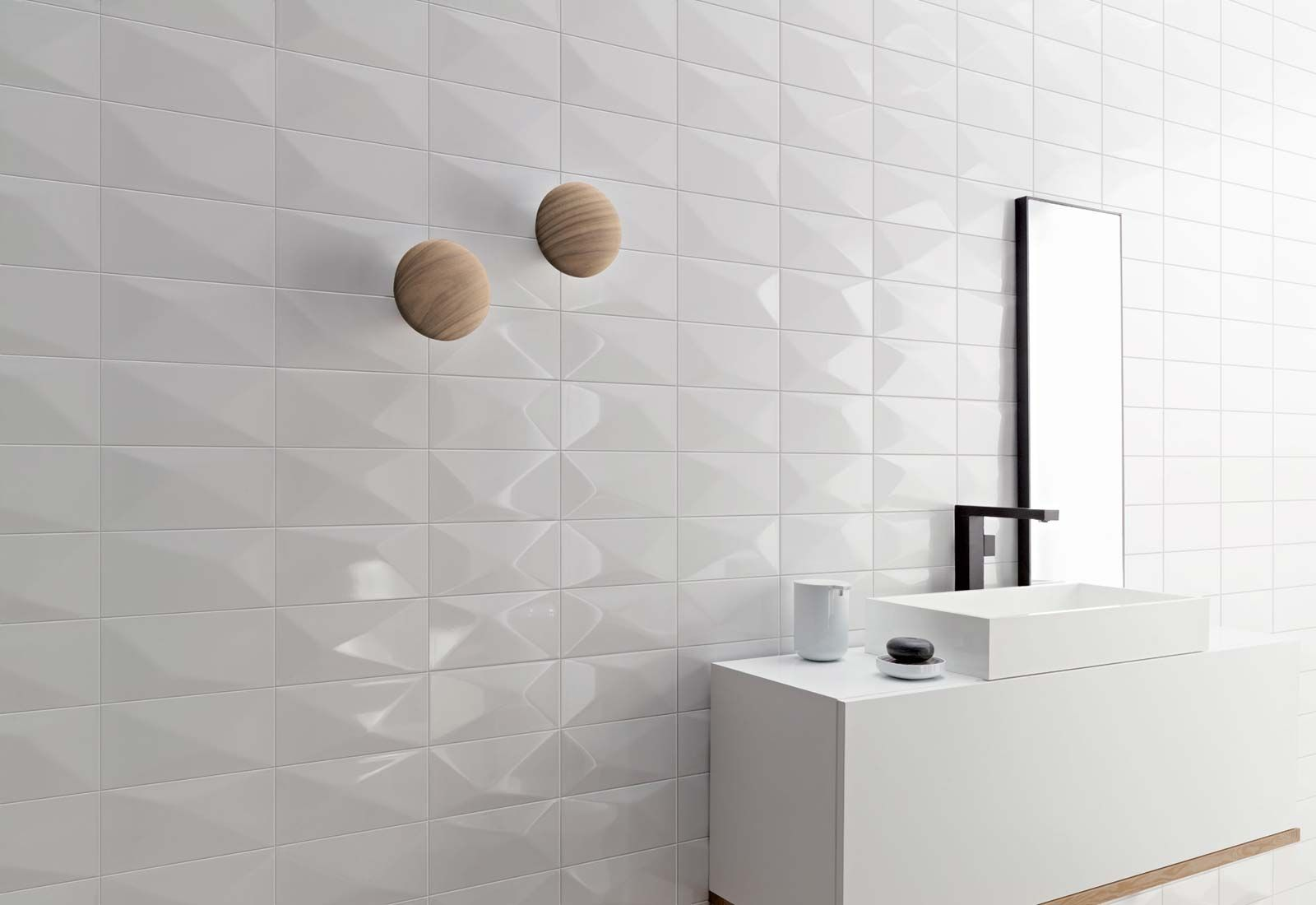 Indoor Tile Wall Ceramic Geometric Pattern Wonder Love