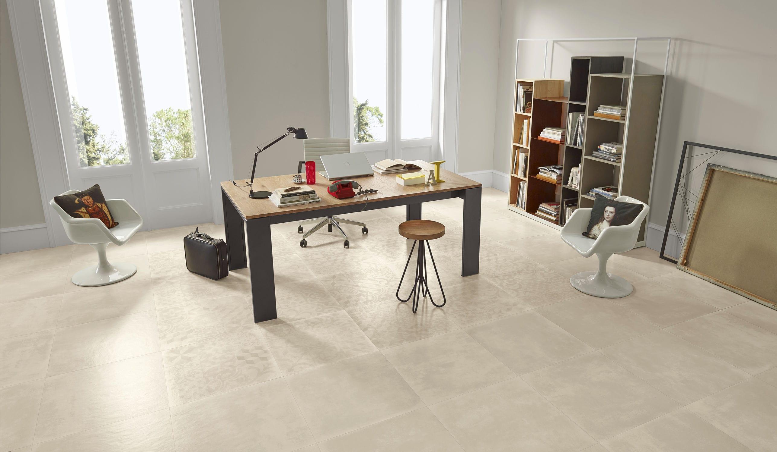 Indoor Tile Floor Porcelain Stoneware Satin Ground Love