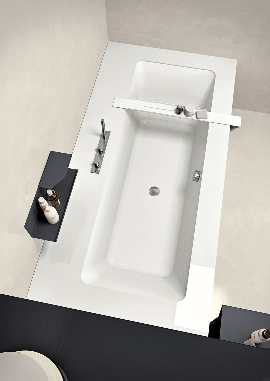 Corian® Bathtub / Resin / Marble / Wooden   WAVE