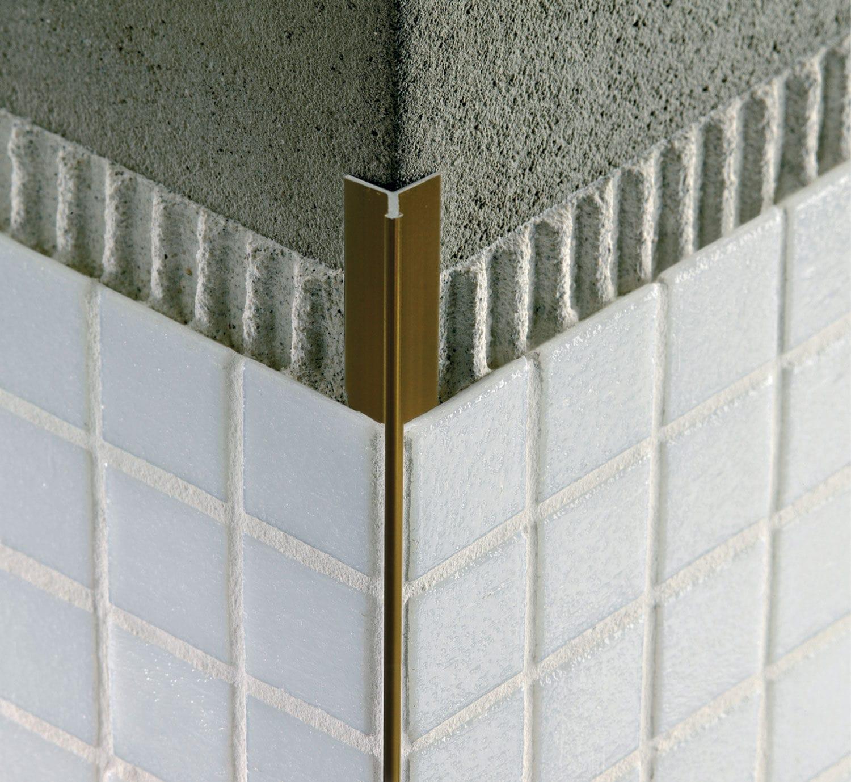 Aluminum Edge Trim For Tiles Outside Corner