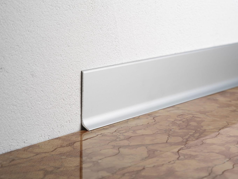 Aluminum baseboard battiscopa ba profilitec
