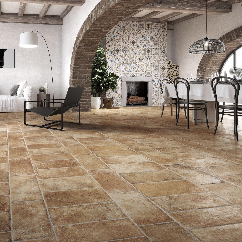 Indoor Tile Outdoor Floor Porcelain Stoneware Tuscany San