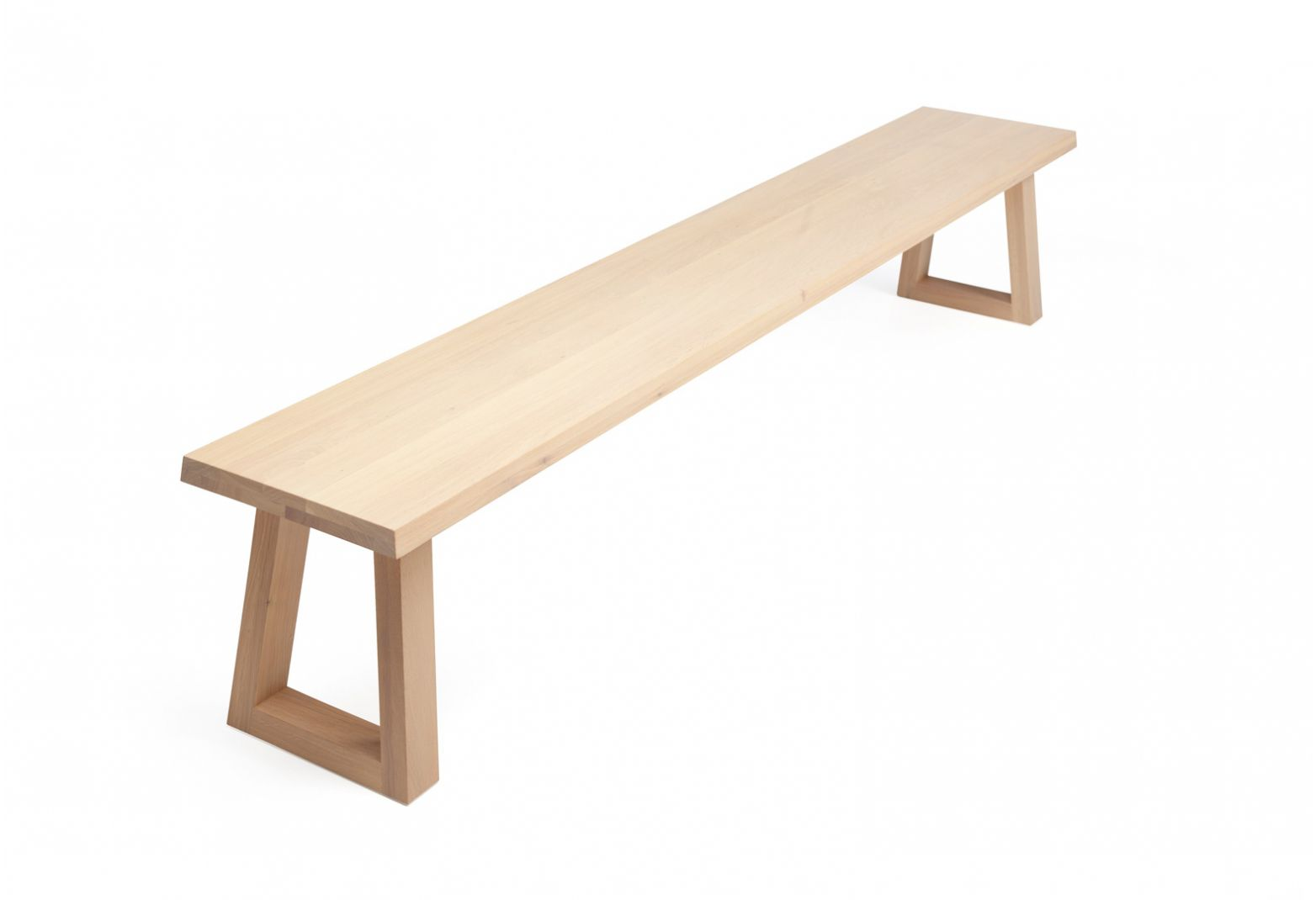 Contemporary Bench / Wooden   SLIDE By Remy Meijers