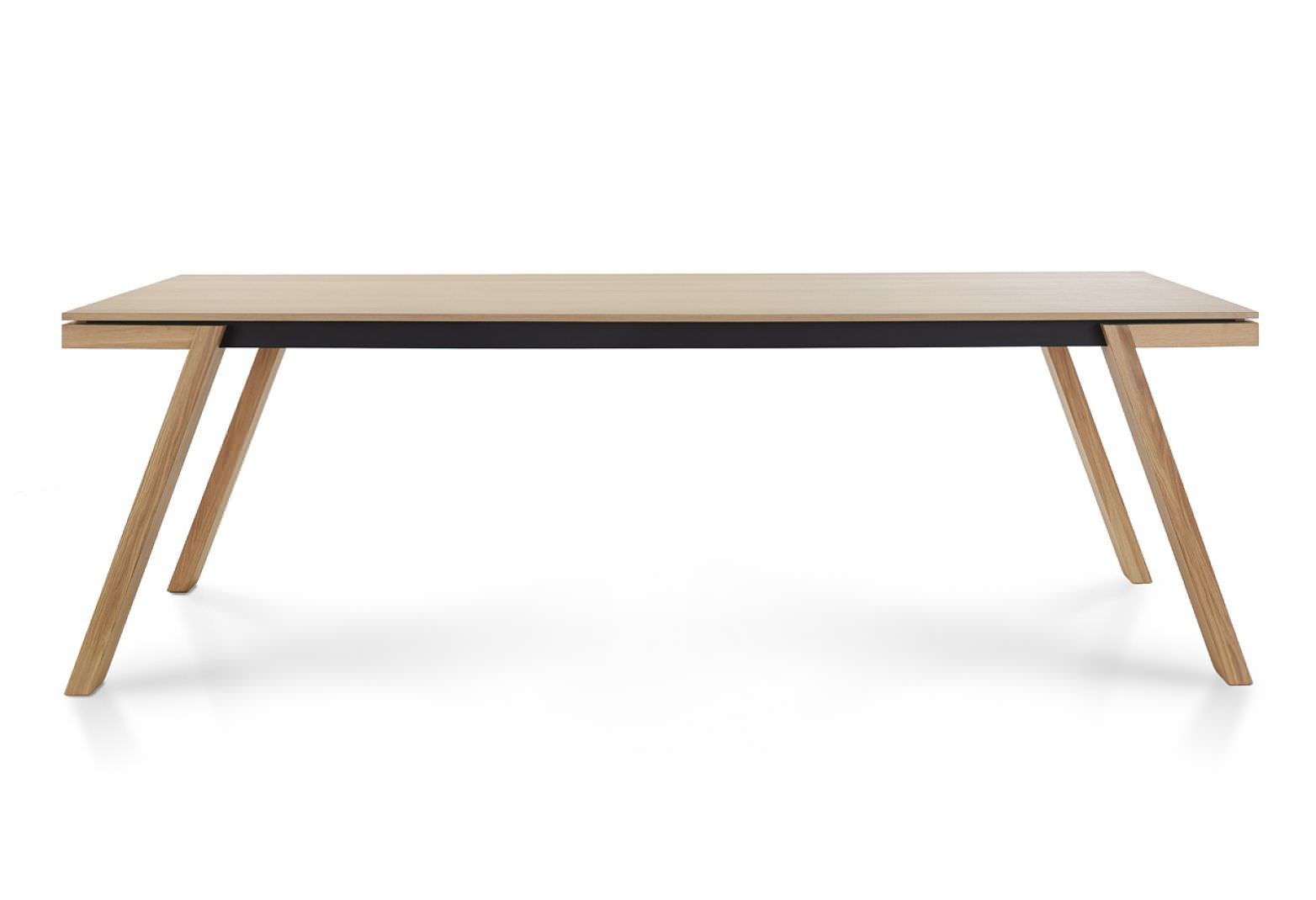 Tisch Modern Design contemporary dining table wooden rectangular by kees