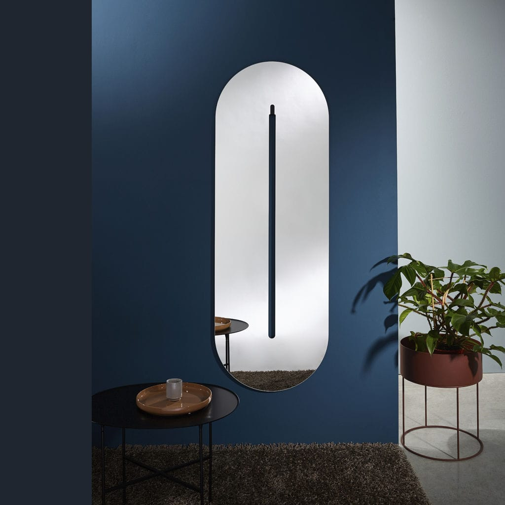 Wall-mounted mirror / bedroom / contemporary - PILLO by Annemie ...