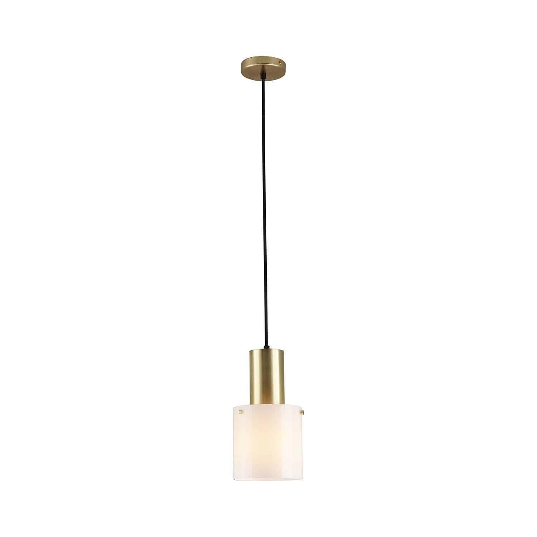 Pendant Lamp Contemporary Glass Copper