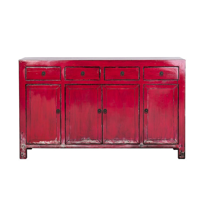 ... Traditional sideboard / wooden / white / red SONG RICHMOND INTERIORS ... - Traditional Sideboard / Wooden / White / Red - SONG - RICHMOND