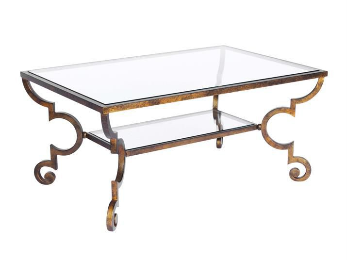 Traditional Glass Coffee Tables