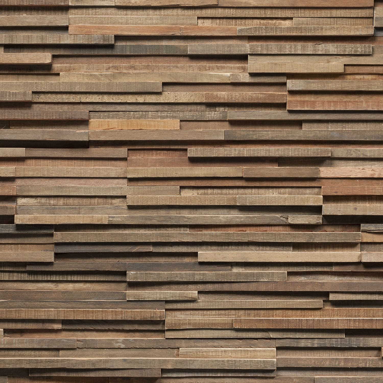 Wooden wall cladding panel / exterior / in reclaimed material ...