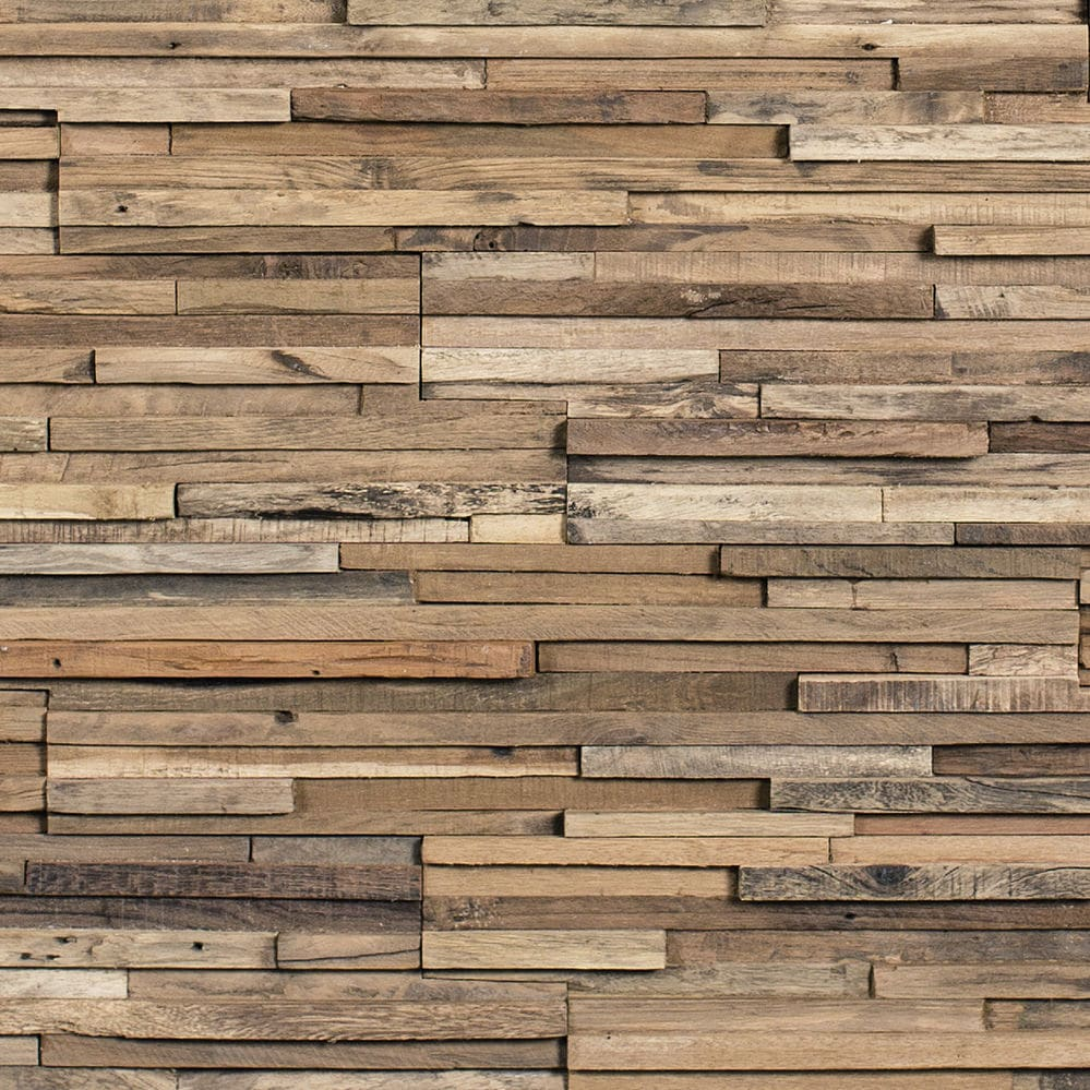 Wooden wallcovering / residential / commercial / textured - PARKER