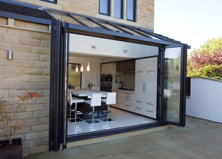 ... Sliding And Stacking Patio Door / Folding / Aluminum / Double Glazed  BI FOLDING ...
