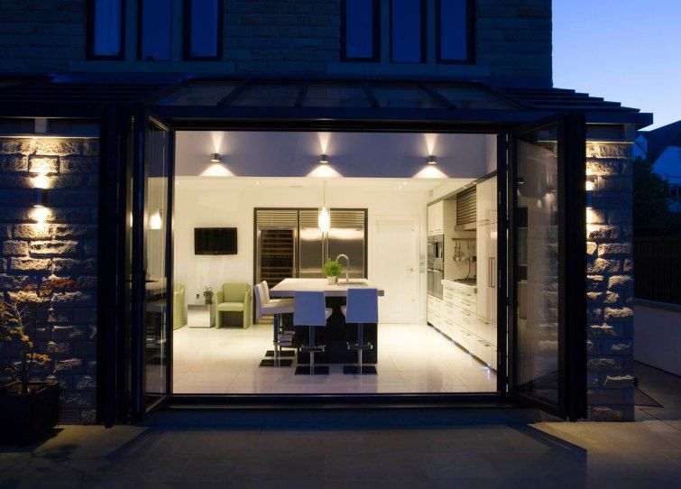 ... Sliding And Stacking Patio Door / Aluminum / Double Glazed