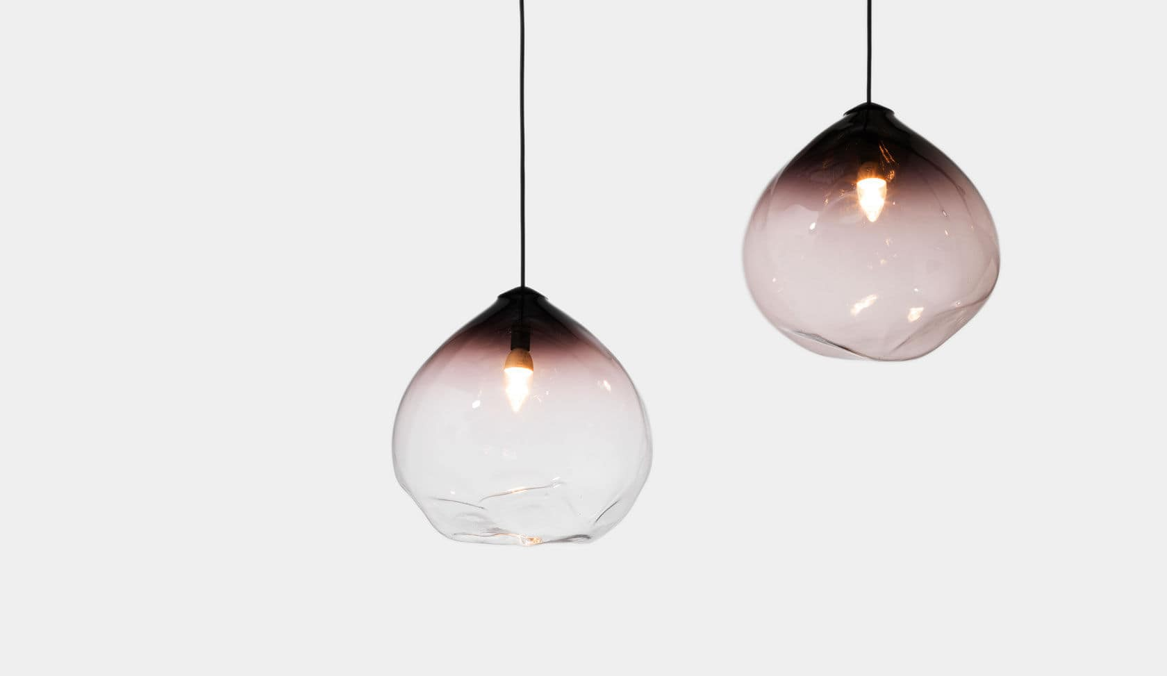 ... Pendant l& / contemporary / glass / LED PARISON by Nat Cheshire Resident ... & Pendant lamp / contemporary / glass / LED - PARISON by Nat ... azcodes.com
