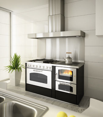 Gas Range Cooker / Electric / Wood / Dual Fuel   COMBINATA DOMINO D6+GD9